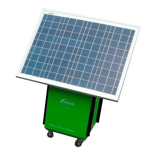 Generador Solar Fiasa F300 Panel+batería+inversor 12 Vcc 220