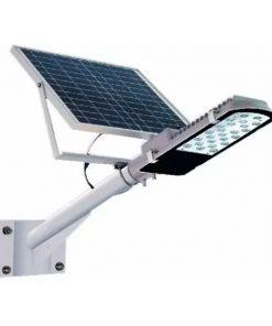 Luminaria Solar Led 100w Atomlux Con Soporte Y Fotocelula